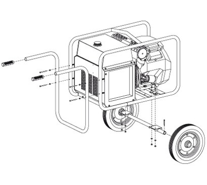 Chariot manuel CTM10
