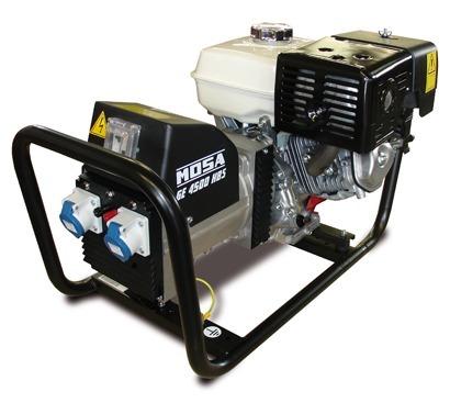 Generatore corrente mosa ge 4500 hbs motore honda gx for Stabilizzatore di tensione 220v 3kw prezzi